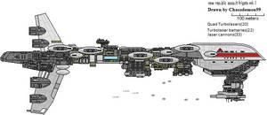 new republic assault frigate mk I