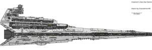 Imperial II-Class star destoyer by AnowiShipyards