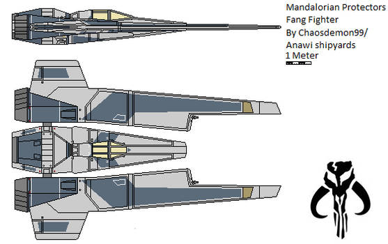 Mandalorian Protectors Fang fighter