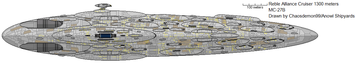 Reble Alliance Cruiser MC-27b by AnowiShipyards