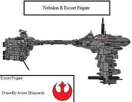 Nebulon B escort frigate by AnowiShipyards