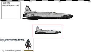 Combat Spacecraft. Low Orbit.