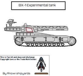 BX-1 Experimental tank by AnowiShipyards
