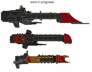 warhammer design template. by AnowiShipyards