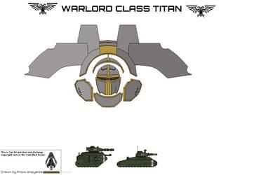 Warlord Class Titan by AnowiShipyards