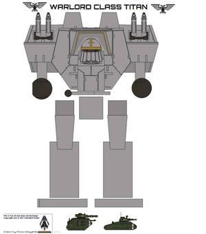 lucius pattern warlord titan