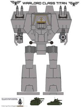 lucious pattern warlord class titan wip I