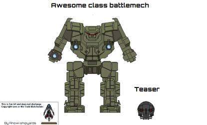 Awesome battlemech
