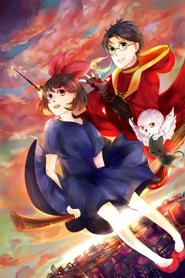Kiki x Potter by Rum-Cola