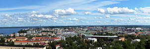 The Cityscape of Tampere by Duna92