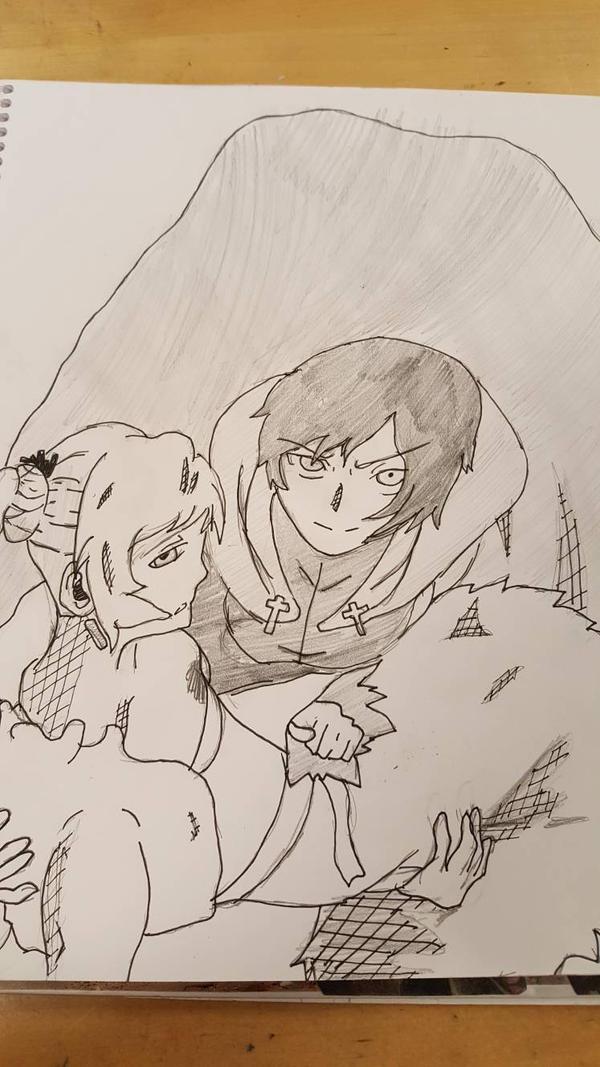 Ruby and Weiss by zeldafan03