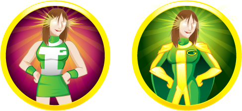 Incredi-Gal Avatars