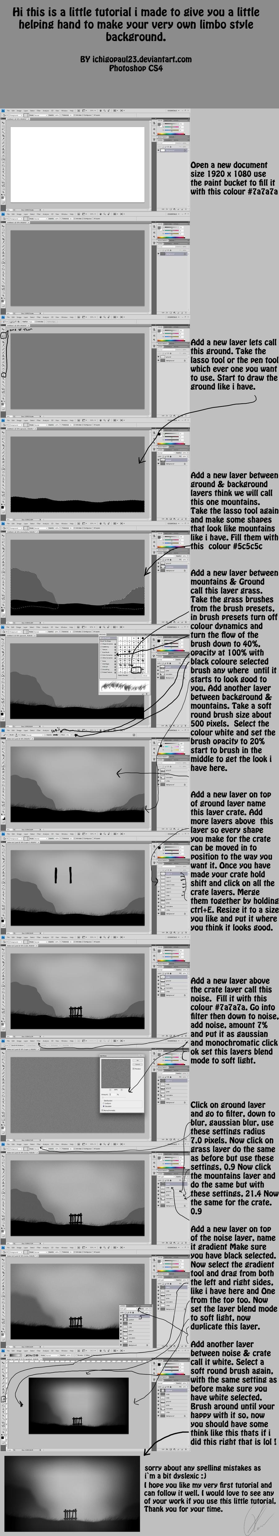 limbo background tutorial