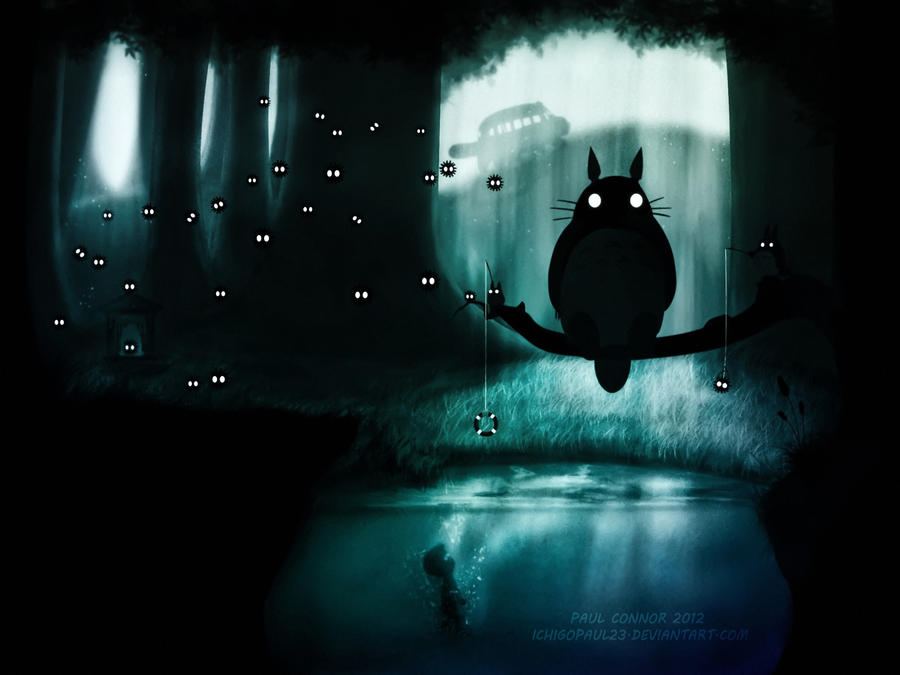 Oh no Totoro ? by ichigopaul23