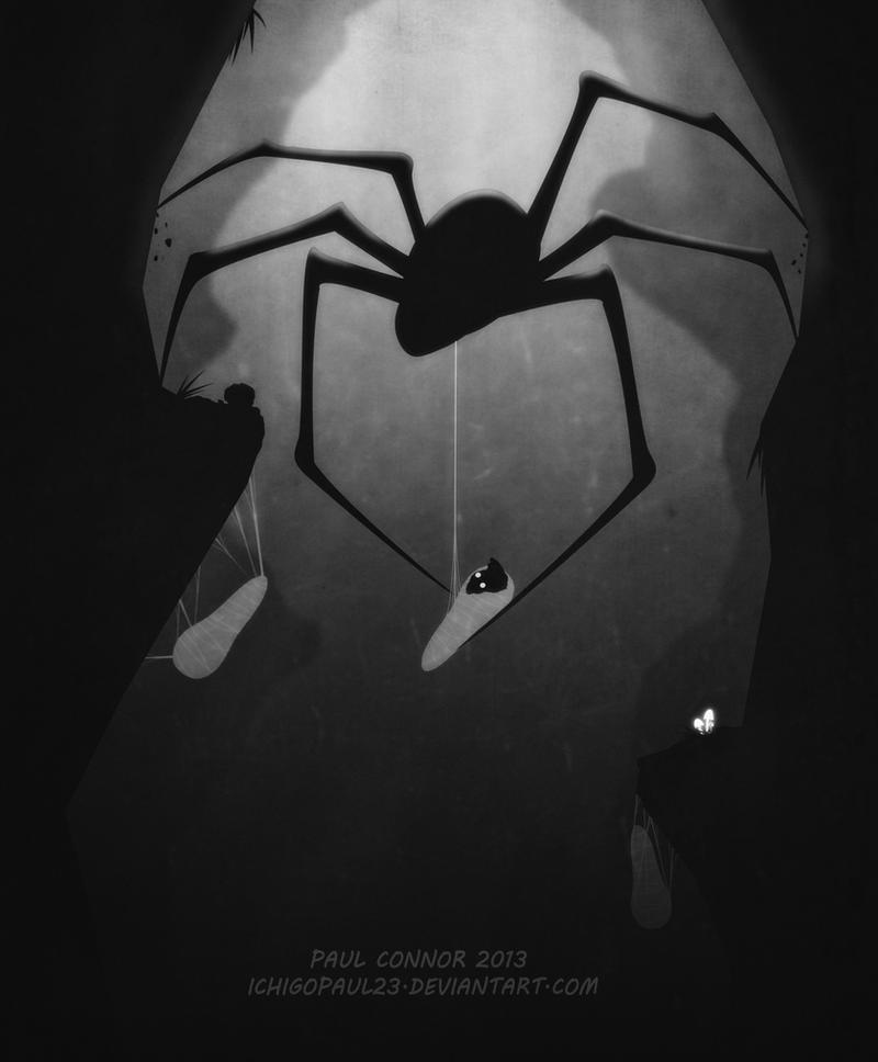 Itsy bitsy spider by ichigopaul23