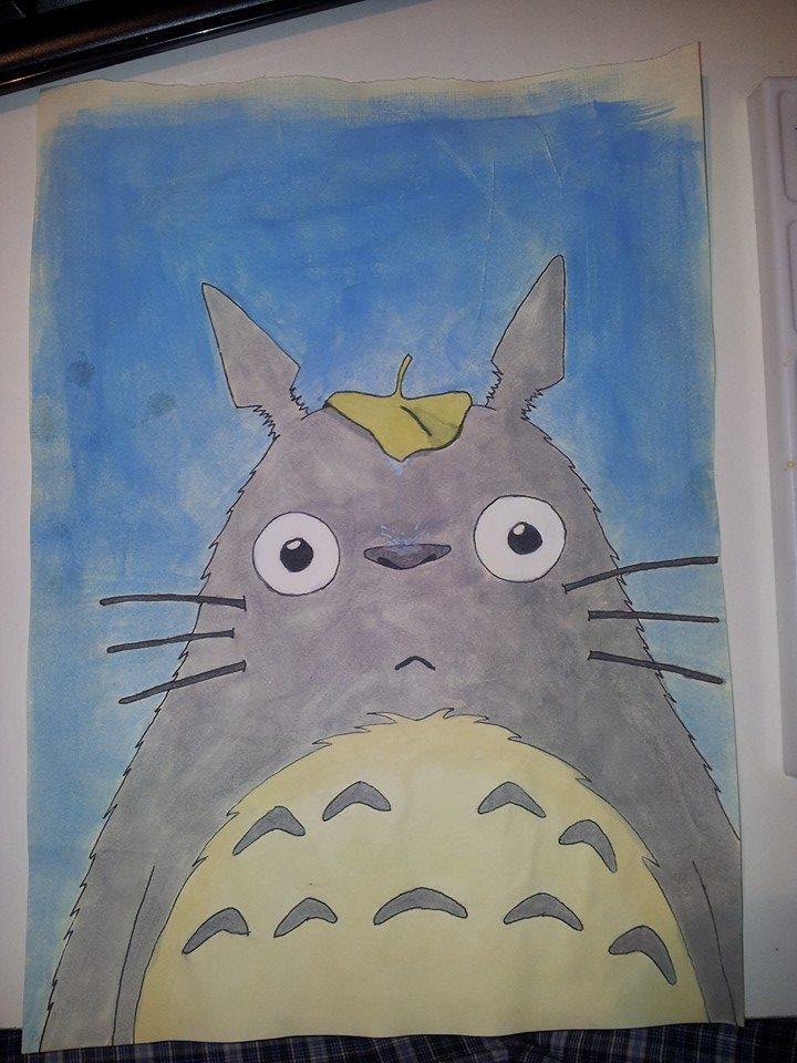 Totoro Painting by ichigopaul23