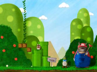 It's a Me Totoro!! by ichigopaul23