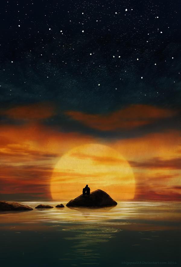 Sunset by ichigopaul23