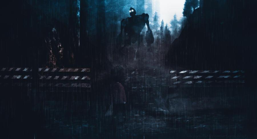 Inside The Iron Giant by ichigopaul23