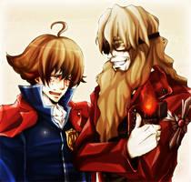 Yumihiko and Bansai by soak1111
