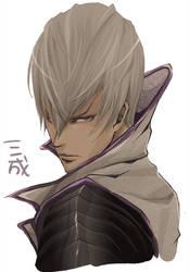 Ishida Mitsunari by soak1111
