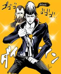 Daryan with Araki Hirohiko style