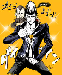 Daryan with Araki Hirohiko style by soak1111