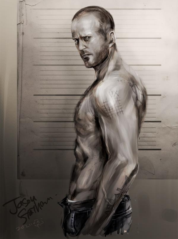 Jason Statham by soak1111