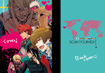 New AA fanbook cover by soak1111