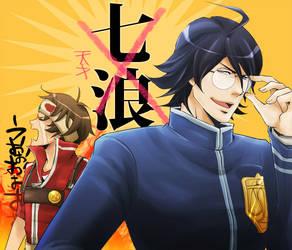 Rei and Chishio by soak1111