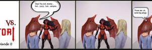 Willow and Tara vs Purgatori 0 by WebWarlock