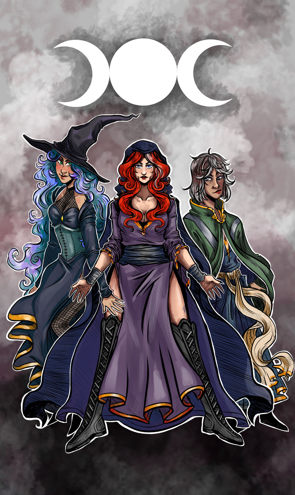White Witch Coven by A E  Short by WebWarlock on DeviantArt