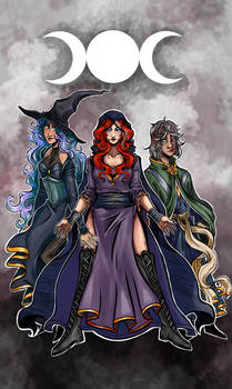 White Witch Coven by A.E. Short