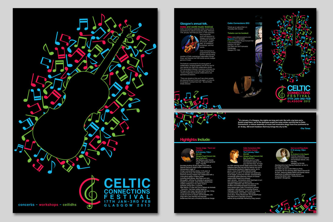 Celtic Connections Campaign by Arcencielz