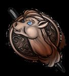 Equinus-brooch