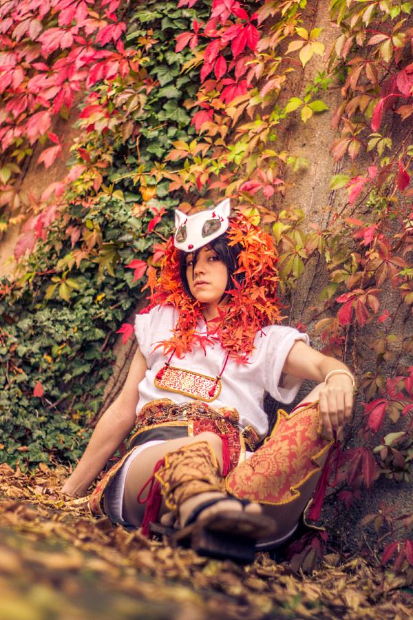 The Autumn Fox by DNomNettash