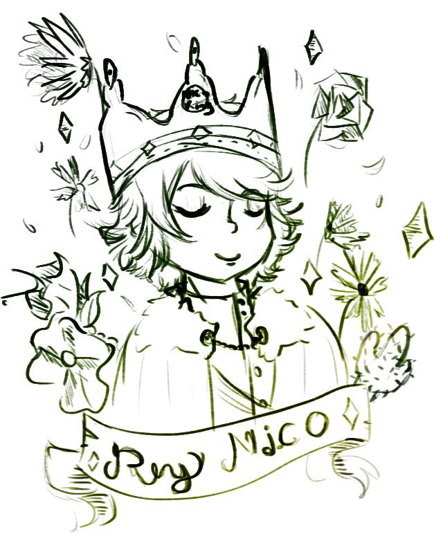 Nico the king by amykinomoto