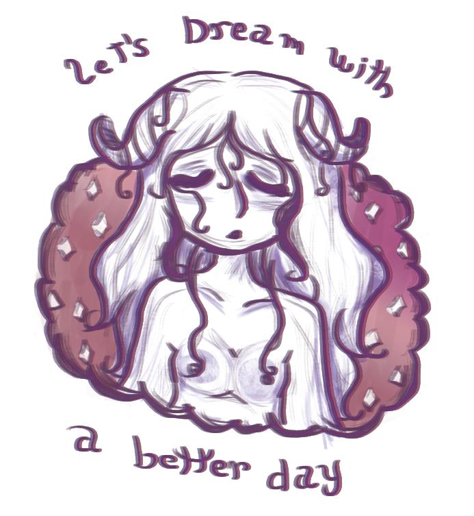 let`s dream by amykinomoto