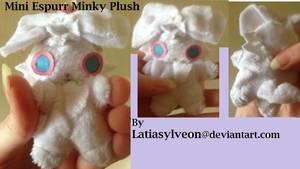 Minky Shiny Espurr Mini Plushie