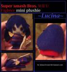 Super Smash bros mini plush Lucina