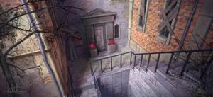 a Mysterious Door