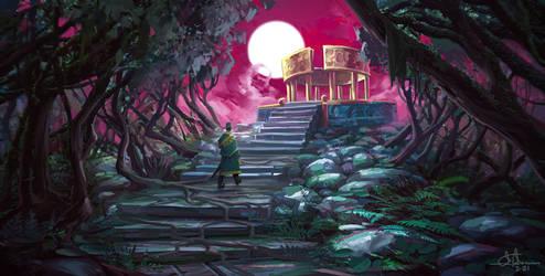 Moon Altar