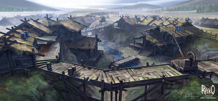 Town in the Plains
