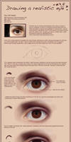 Drawing a realistic eye