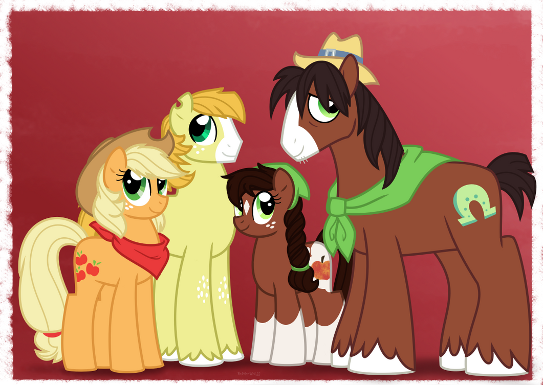 NG Family Portraits: TroubleJack Family by Faith-Wolff on DeviantArt