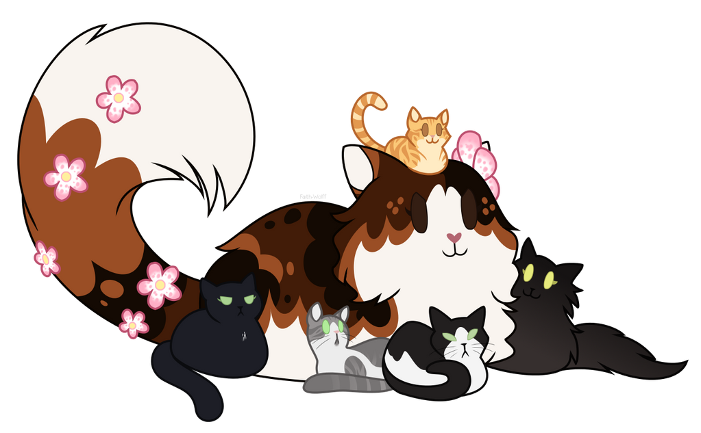 Best Cat Momma by Faith-Wolff