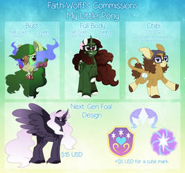 MLP Commission Sheet (CLOSED)