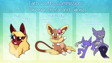 Pokemon Commission Sheet (CLOSED)