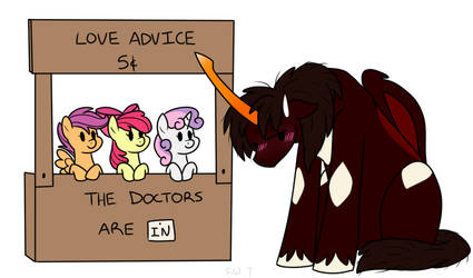 Cutie Mark Crusaders Love Counselors! by Faith-Wolff