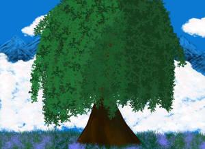 Tree in Moutian
